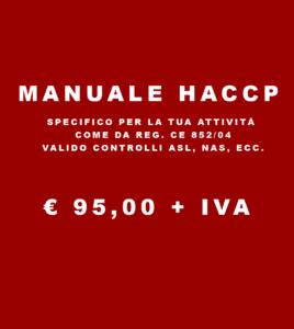 Manuale haccp alimentari